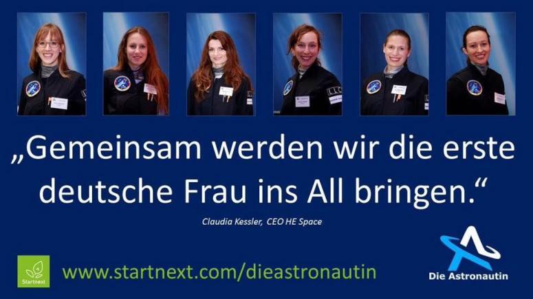 Die-Astronautin_Kandidatinnen