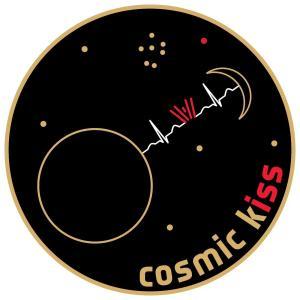 "Logo ""Cosmic Kiss"""